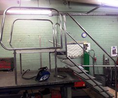 Bespoke manufacture of pool access ladders