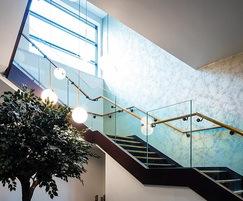 Bespoke balustrade for Hilton Garden Inn Hotel