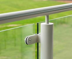 Glass infill panels for bespoke balustrade