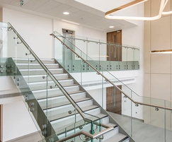 Bespoke staircase and balustrade - Babraham