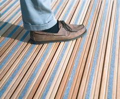 DeckSafe® antislip decking inserts