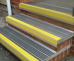 Magma Safety Products: New Alispar MOD7 DDA compliant stair nosing