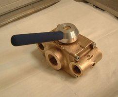 Cryogenic 3-way diverter valve Series 2005