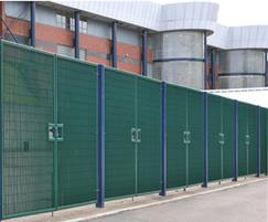 Roma-4 swing gates: Hampden Park Stadium