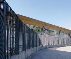 Torino-33 grating fence