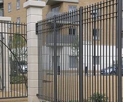 Modena railings and gate, Caledonian Park, Islington