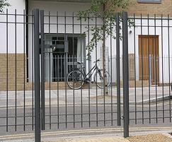Modena single-leaf pedestrian gate