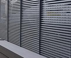 Italia-80 steel louvre fencing
