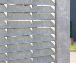 Hot-dip galvanized finish for durability