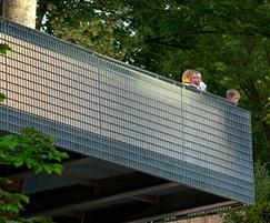Structural panels providing a post-free balustrade