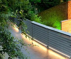 Structural balustrade panels