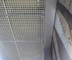 Quattro-33 removable ceiling grilles