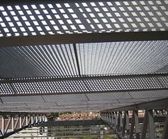Quattro-44 structural ceiling grilles
