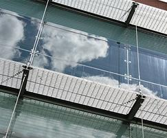 DemiMetro-22 suspended walkways: Strathclyde University