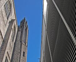 Italia-80 wall cladding: MSCP Marischal College