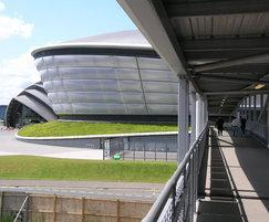 Micro 15 balustrade to the SSE Hydro
