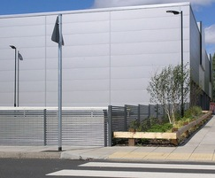 1-metre high boundary fencing