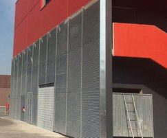 LF Italia 80 wall cladding louvre V3