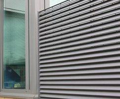 Italia 100 Chelmsford Sports Centre fence louvre