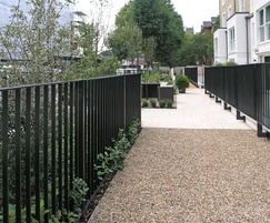 Customised Rimini railing fence