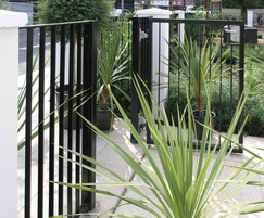 Rimini railing fence and matching gates