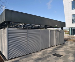 Italia-80 bin store and cycle shelter for bet365