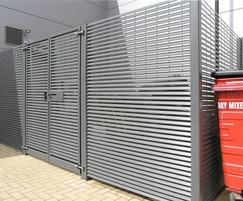 Europa modular bin store, Ashford Retail Park