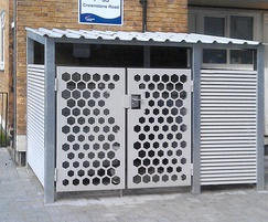 Italia-80 & decorative laser cut panels, Brixton