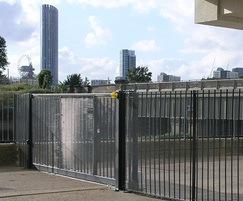 Double sliding gate