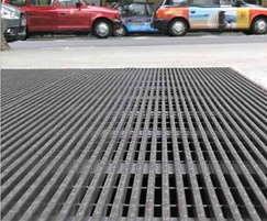 Urban steel grating
