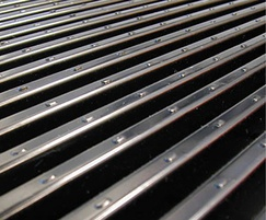 Barrot horizontal gratings