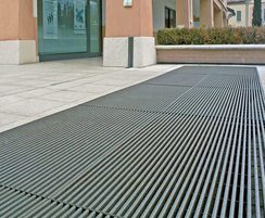 Barrot steel floor grating