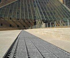 EF 25x76 floor grating panels
