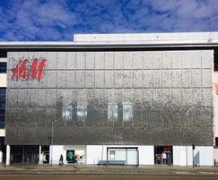 Stereo-kinetic at H&M store, Edinburgh