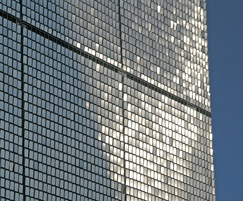 Stereo-kinetic external wall cladding