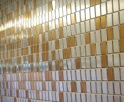 Stereo-kinetic as interior wall cladding, The SSE Hydro