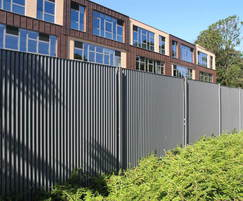 Italia-80V with vertical louvres, Priory School