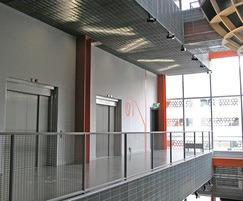 Stretto grating - ceiling, soffit and fascia cladding
