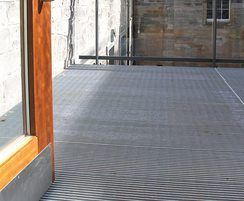 AntiVertigo gratings used for walkway