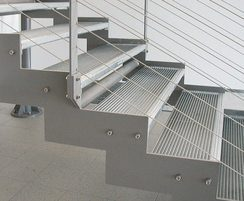 AntiVertigo gratings used for stair treads