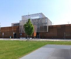 Italia-Corten louvre architectural grating