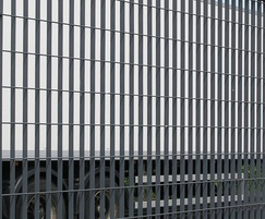 Roma-3 perimeter grating fence for Imperial Brands HQ