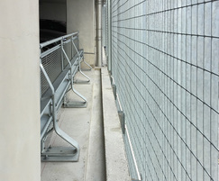Stereo-3 grating panels for Manchester Airport facades