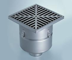 Industrial 763.403.110 stainless steel floor drains