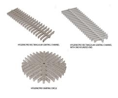 HygienicPro AISI 304C (EN 1.4308) grade grating channel