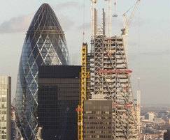 Leadenhall Building under construction