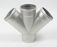 EuroPipe stainless steel push-fit pipe system
