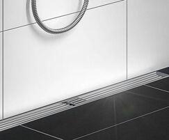 BLÜCHER® Art Deco shower channel