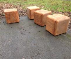 Street Furnishings: New Cube Seating