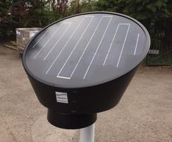 Solar signlight black finish